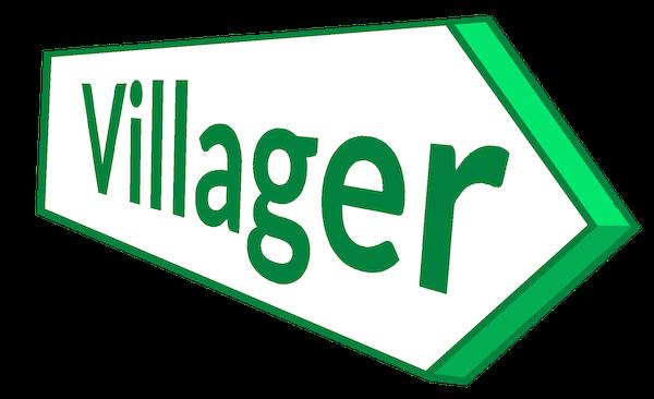 The Villager Minibus Logo